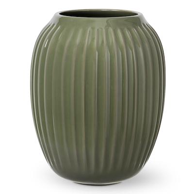 Hammershøi vase 21cm mørk grøn