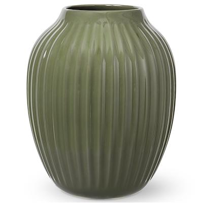 Hammershøi vase 25,5cm mørk grøn