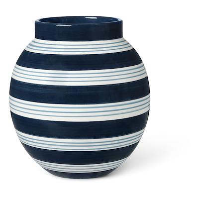 omaggio nuovo vase h20,5 blå