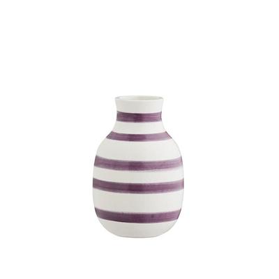 Kähler Omaggio vase blomme strib 12,5 cm