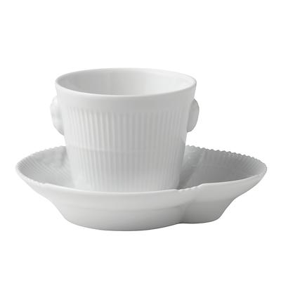 Royal Copenhagen hvid elements espressokop