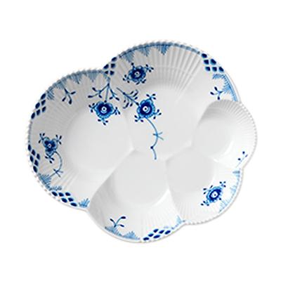 Royal Copenhagen blå elements fad 19 cm