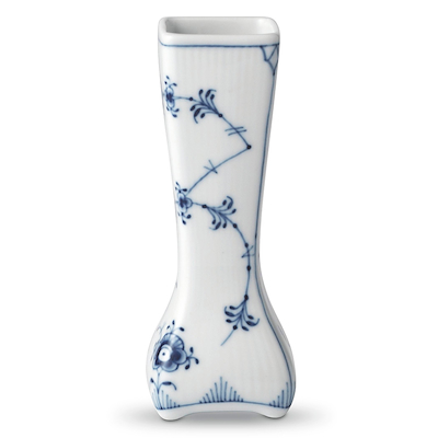 Royal Copenhagen Musselmalet Riflet Vintage vase 12 cm