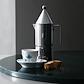 Royal Copenhagen Blå Elements espressokop og underkop 9 cl