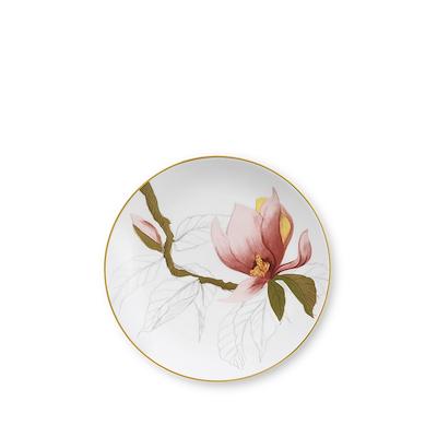 Royal Copenhagen Flora tallerken magnolia 19 cm