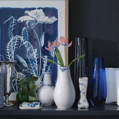 Royal Copenhagen Prinsesse vase 18 cm