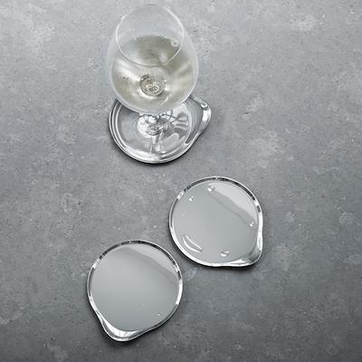 Georg Jensen Wine & Bar glasbakker 4 stk stål