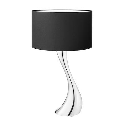 Georg Jensen Cobra lampe lille sort skærm