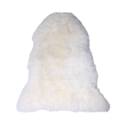 Lammeskind New Zeeland 95x60 cm hvid