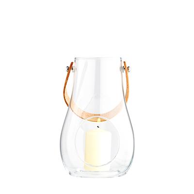 Holmegaard DWL lanterne 29 cm, klar