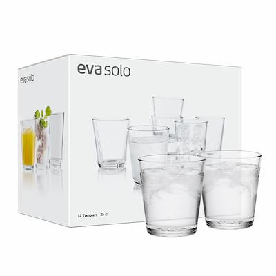 Eva Solo drikkeglas 12 stk. 25 cl
