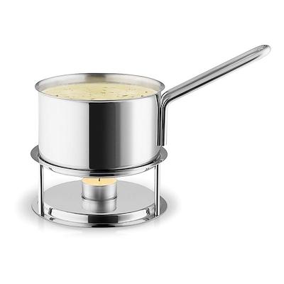 Eva Trio saucevarmersæt 1,1 liter stål