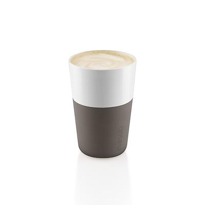 Eva Solo cafe latte krus taupe 2 stk. 36 cl
