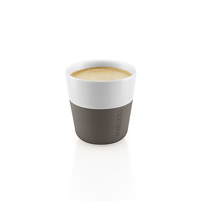Eva Solo espressokrus taupe 2 stk. 8 cl