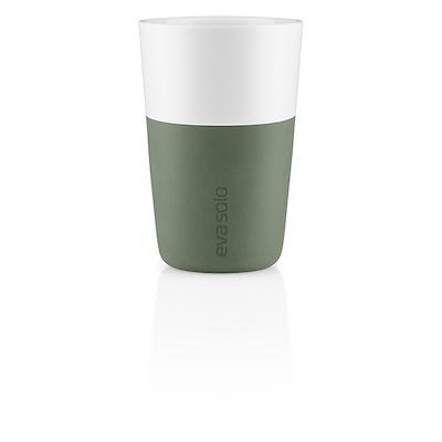 Eva Solo  cafe latte krus cactus green 2 stk. 36 cl