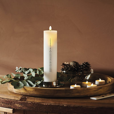 Sirius Sille LED kalenderlys 29 cm