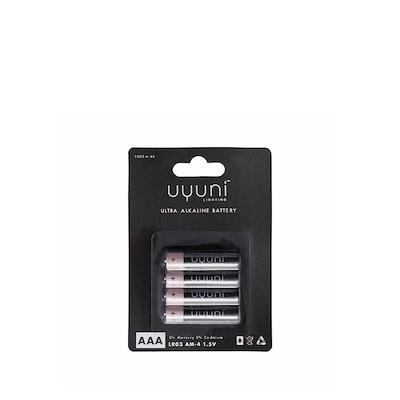Uyuni AAA Batterier 1,5V 4 stk
