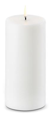 Uyuni LED bloklys Ø7,8xH15cm