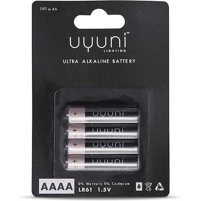 Uyuni AAAA Batteri 4stk 1,5v
