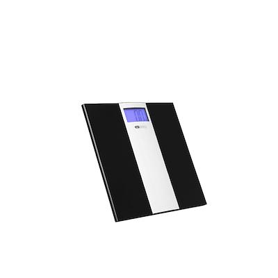 OBH Nordica personvægt sort m/alu model 6271