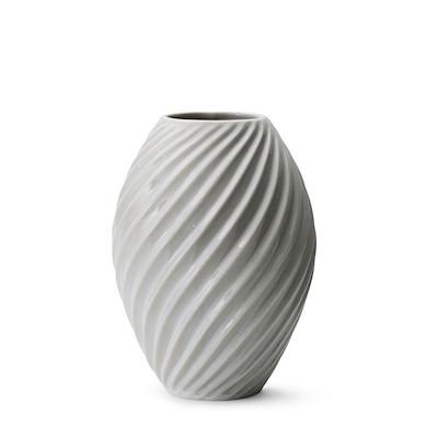 Morsø River vase 21 cm hvid