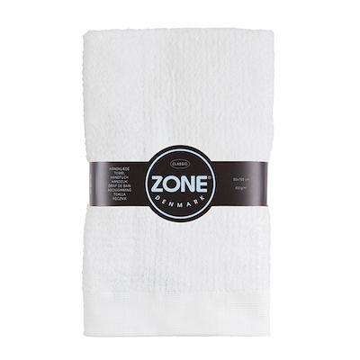 Zone Classic håndklæde hvid 50x100 cm