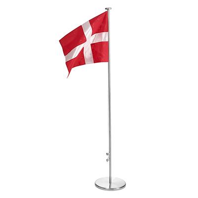 Dannebrog gulvflag 165 cm