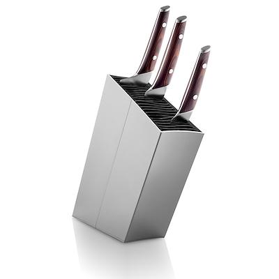 Eva Solo knivblok skrå aluminium