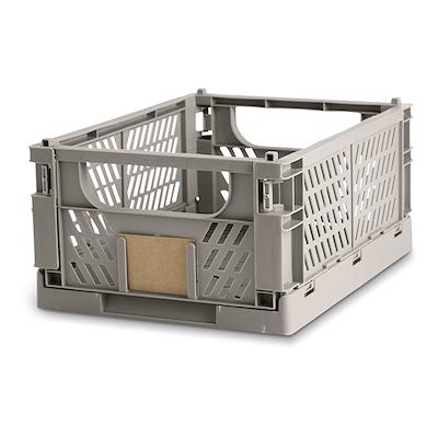 Day foldbar opbevaringskasse 33x24,5 cm grå