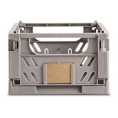 Day foldbar opbevaringskasse 25x16,5 cm grå