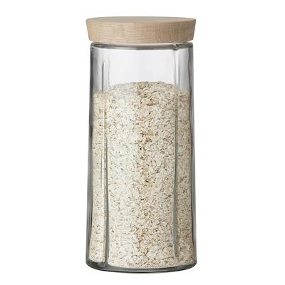 Rosendahl Grand Cru opbevaringsglas 1,5 liter låg i eg