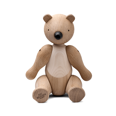 Kay Bojesen bjørn mellem ubehandlet eg