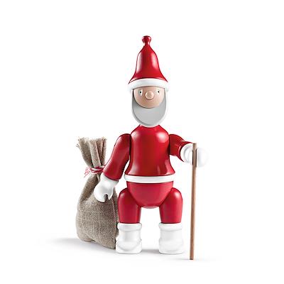 Kay Bojesen Julemand Santa Kay med gavesæk H20 cm