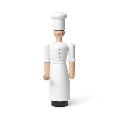 Kay Bojesen kokkepige hvid