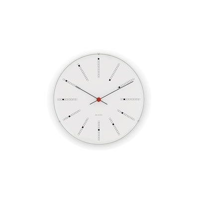 Arne Jacobsen vægur Bankers Clock 48 cm