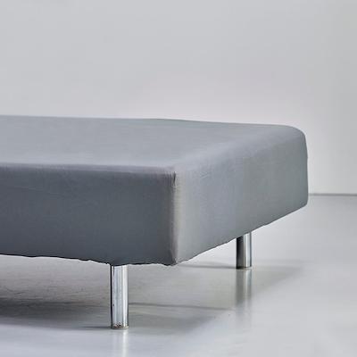 Night & Day boxlagen 180x200x30 cm satin grå
