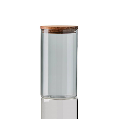 Aida RAW opbevaringsglas Smoke 10x18 cm