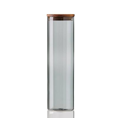 Aida RAW opbevaringsglas Smoke 7,8x28 cm