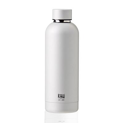 Aida RAW termoflaske metallic silver 0,5 liter