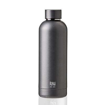 Aida RAW termoflaske metallic dark grey 0,5 liter