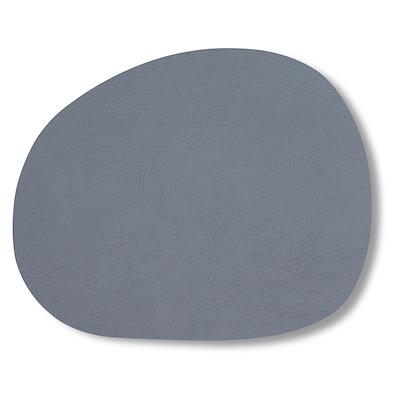 Aida RAW dækkeserviet recycled læder grå