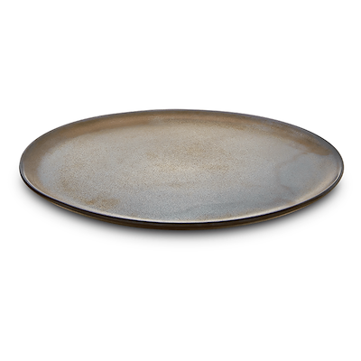 Aida RAW tallerken metallic brown 20 cm