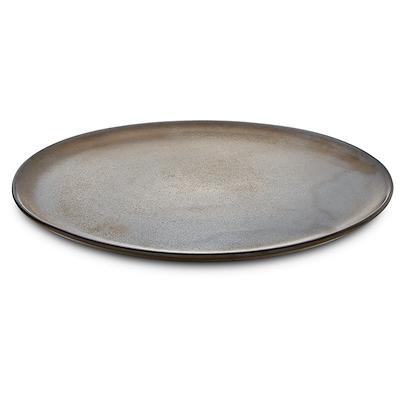 Aida RAW tallerken metallic brown 28 cm