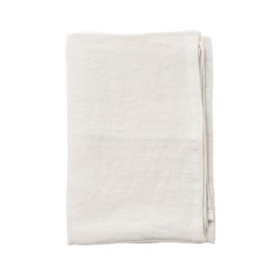 Aida RAW serviet i hør modehvid 4 stk. 45x45 cm