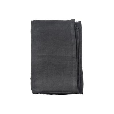 Aida RAW serviet i hør Mørkegrå 4 stk. 45x45 cm