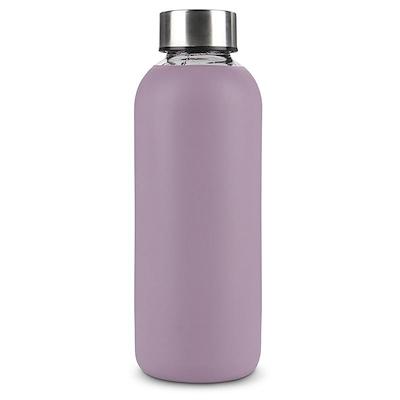 Aida vandflaske med silikonedragt lilla 0,5 liter