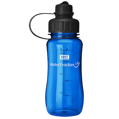 Brix water tracker 0,5 liter navy blue