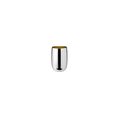 Stelton Foster vandglas 0,2 ltr stål/ guld