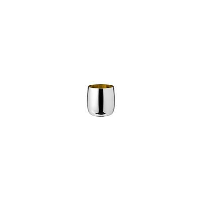 Stelton Foster vinglas 0,2 ltr stål/ guld