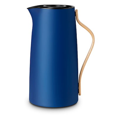 Stelton Emma termokande kaffe 1,2 liter mørk blå
